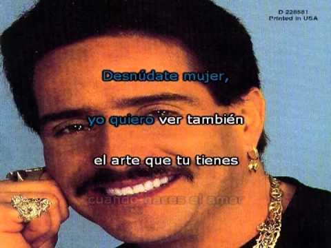 Frankie Ruiz - Desnúdate Mujer (Karaoke)