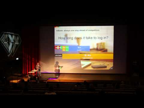 UX Poland 2014 - Michał Panowicz: mBank - the most UX driven bank in the world