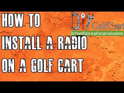 Golf Cart MP3 Stereo | How To Install Radio