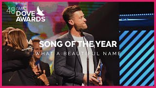 """What A Beautiful Name"" Wins Song of the Year"
