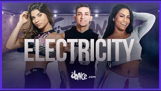 Electricity  - Silk City, Dua Lipa ft. Diplo, Mark Ronson | FitDance Life (Coreografía) Dance Video