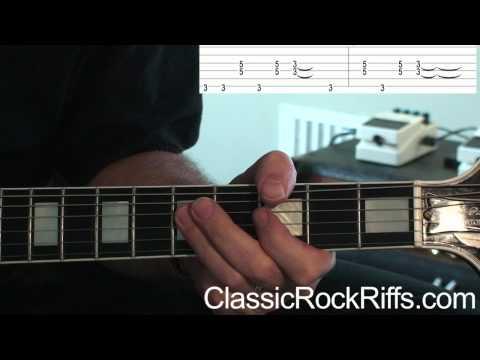 ZZ Top : TUSH : Intro guitar lesson + TAB