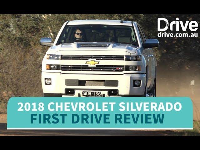 Chevrolet Silverado 2018 Review Drive Com Au Youtube