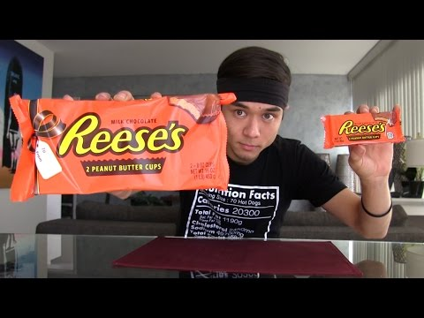 Giant Reese's PB Cups! (2280 Calories)