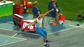 2016 Rio Olympic Athletics M Javelin Throw