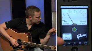 guitar lesson 5 - how to tune the guitar with an electronic tuner