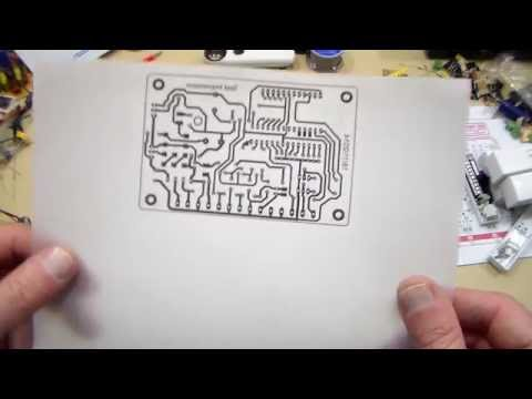 Printing in Eagle / Imprimer dans Eagle