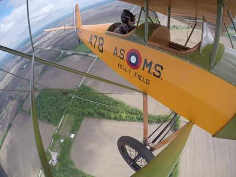 Pietenpol AirCamper flying Northern Indiana