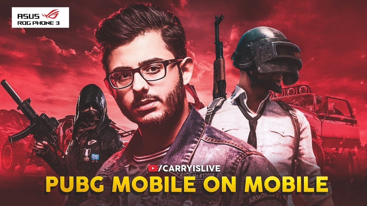 PUBG MOBILE ON MOBILE (ROG PHONE 3)