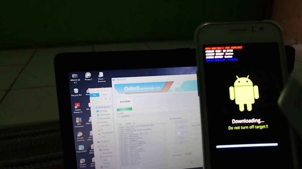 Mobile Info: Samsung Galaxy J1 Ace Reset