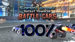 Supersonic Acrobatic Rocket-Powered Battle-Cars 100% (All Star)