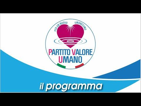 Partito Valore Umano - Il Programma