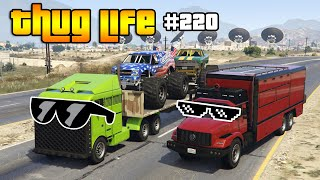 GTA 5 ONLINE THUG LIFE & FUNNY MOMENTS (Epic Wins, Funny Fails and Stunts #220)