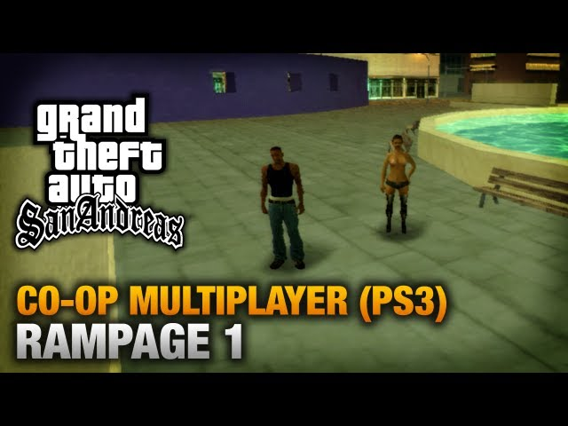 GTA San Andreas - PlayStation 3 Walkthrough - Multiplayer Rampage #1 (Los Santos)