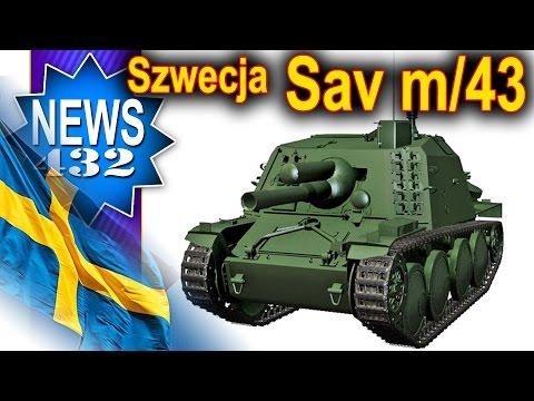 Szwecja - Sav m/43 i Lago I - NEWS - World of tanks