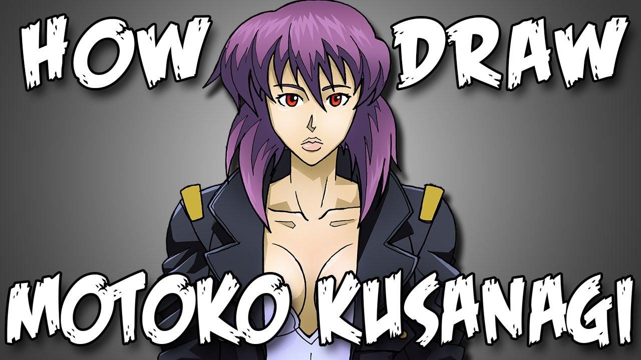 Draw Motoko Kusanagi