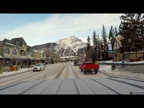 GoPro | Downtown Banff, Alberta in the Wintertime