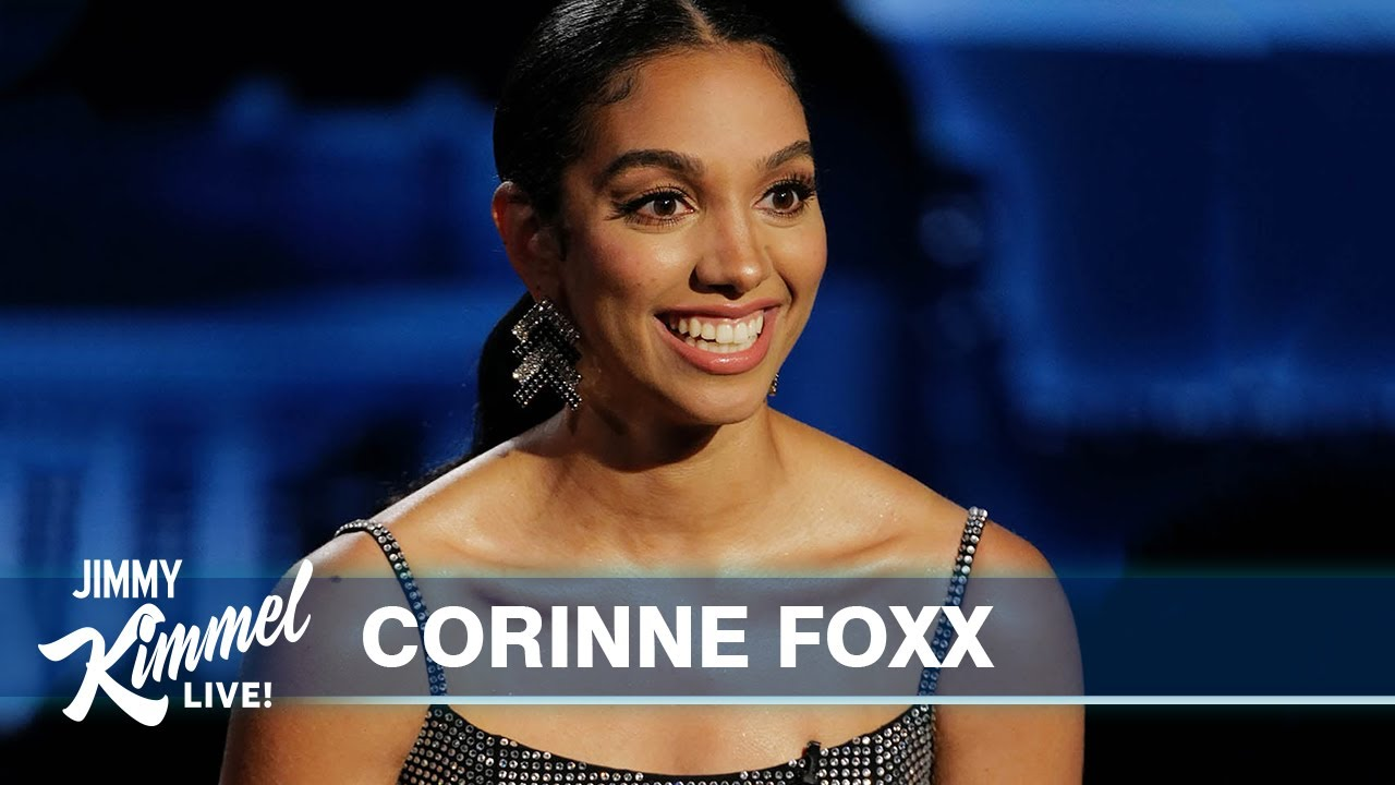 Corinne Foxx is Perpetually Embarrassed by Her Dad Jamie Foxx