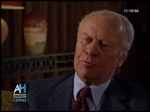Oral Histories: Former President Gerald Ford