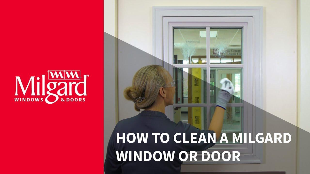 How to Clean a Milgard Window or Patio Door & How to Clean a Milgard Window or Patio Door - YouTube Pezcame.Com
