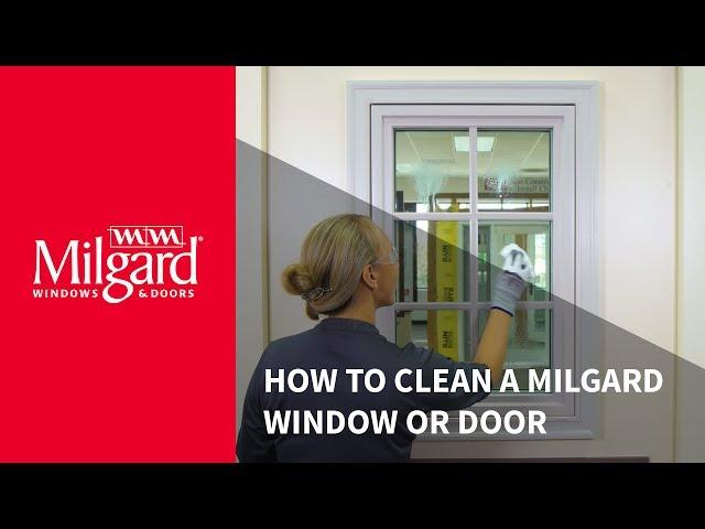 How to Clean a Milgard Window or Patio Door