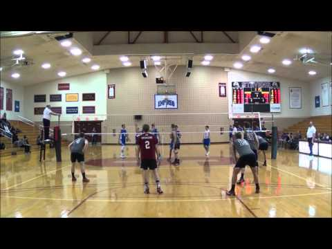 Stevens vs New Paltz Mens Volleyball - YouTube