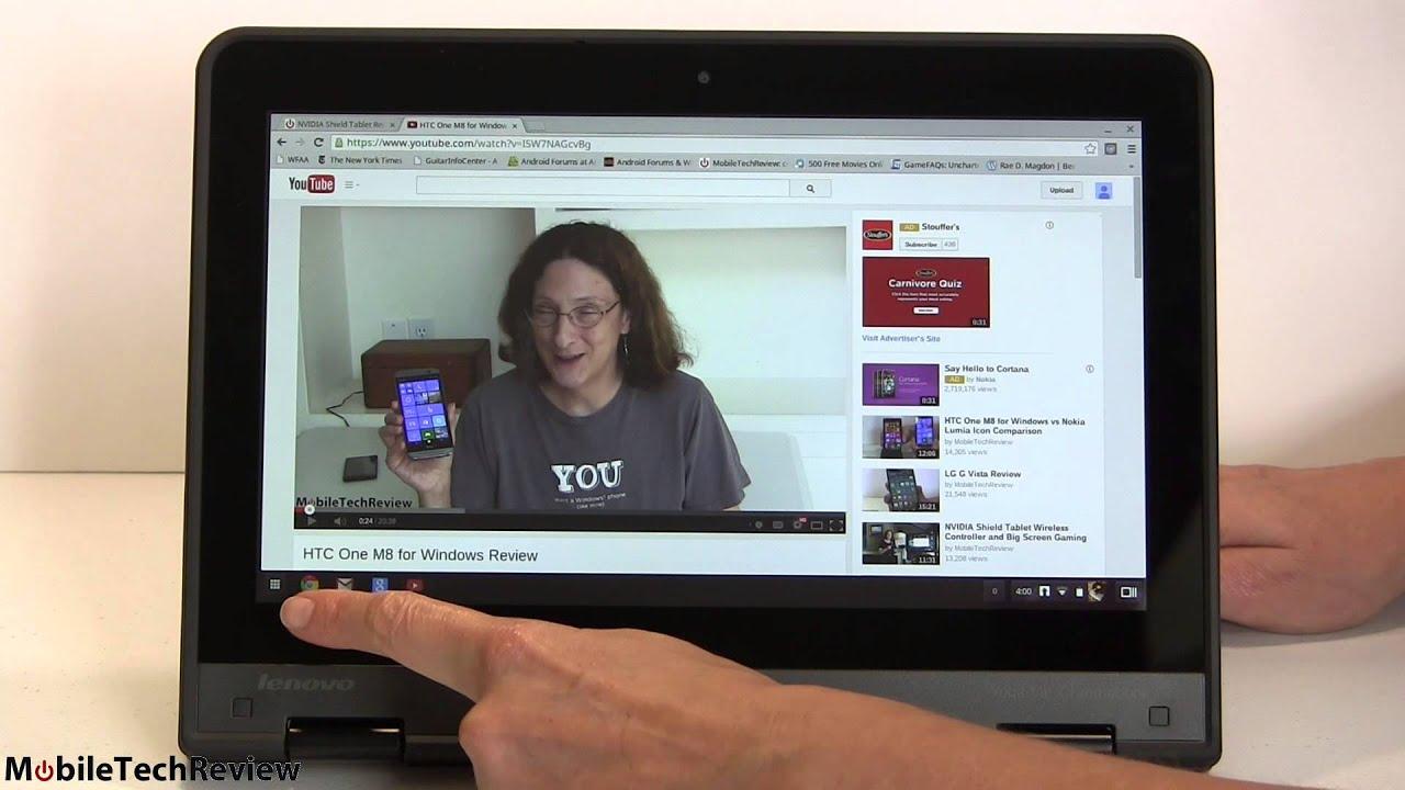 Lenovo Thinkpad Yoga 11e Chromebook Review Youtube