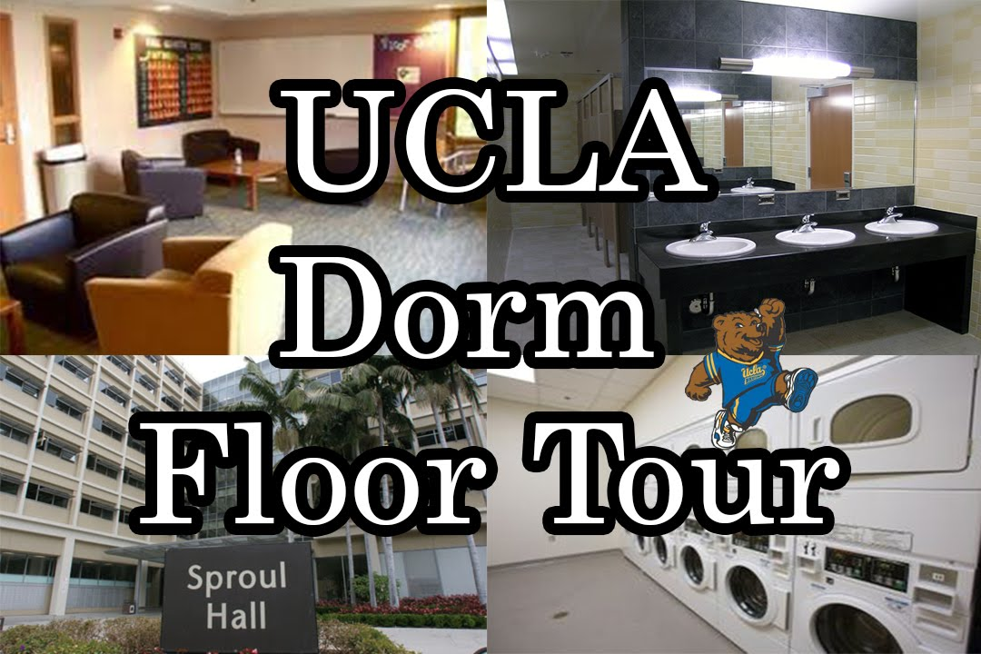 UCLA DORM FLOOR TOUR: Laundry Rooms, Bathrooms, Study Lounges   YouTube Part 45