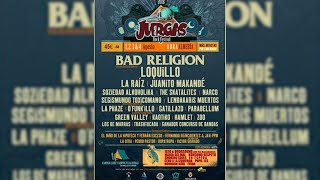 Bad Religion y Loquillo se suman a The Juergas Rock Festival