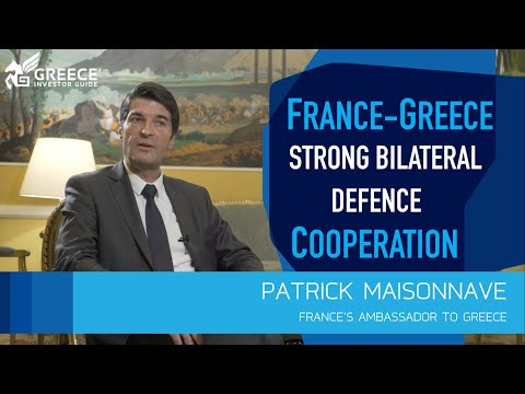 Patrick Maisonnave, France's Ambassador to Greece - Greece Investor Guide (1)