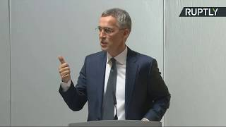LIVE: NATO's Stoltenberg gives speech at Lancaster House during visit to London