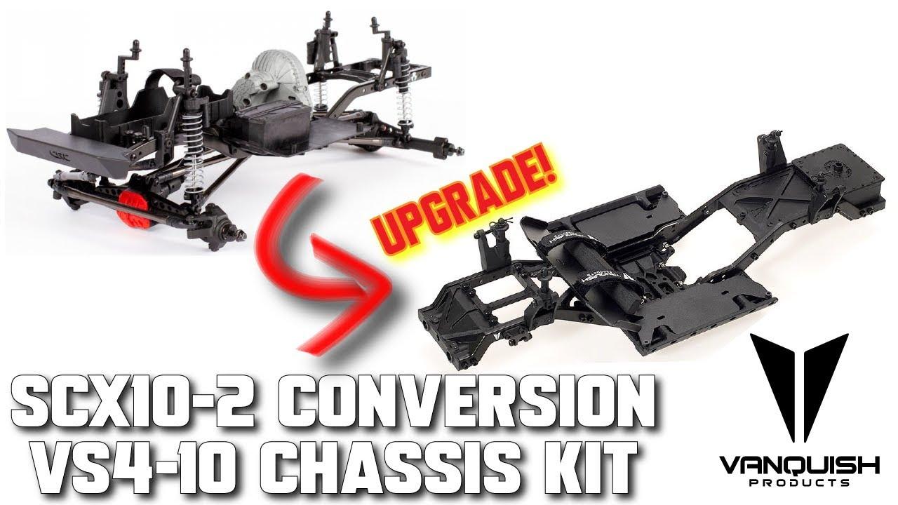 Convert your SCX10-II to Vanquish VS4-10 Chassis