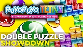 Simone and Allegra Try to Solve PUYO PUYO TETRIS - Polygon Plays