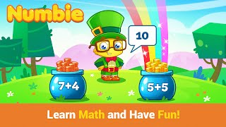 """Numbie First Grade Math """"Educational Education Games"""" Android Apps Game Video"""