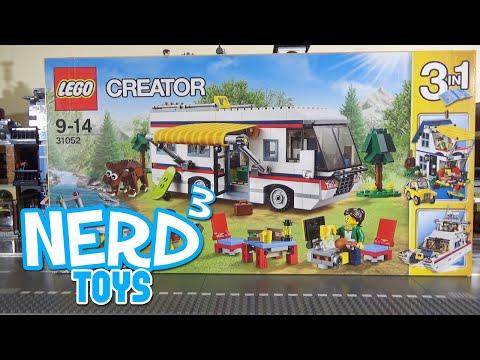 Nerd³'s Lego Tuesdays - 31052 Vacation Getaways