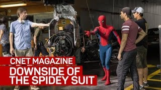 Spidey sense tinkling! Tom Holland almost peed himself in the Spider-Man suit