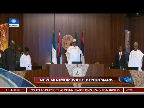 Council Of State Approves NGN27,000 As New Minimum Wage 22/01/19 Pt.1 |News@10|