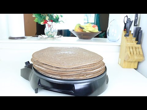 "Ethiopian Food/Bread ""How to make Injera using Teff only"" የጤፍ እንጀራ አሰራር"
