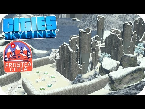 Creepy Castle Campers!!! Cities: Skylines? ❄️Project Dam Snow!❄️#10