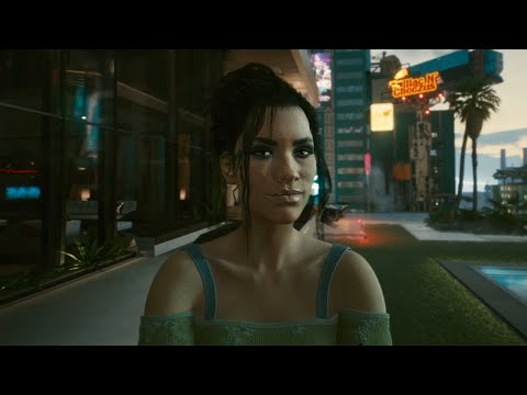 Cyberpunk 2077 - ENDING - Panam Romance, Panam in the Shower, V Becomes the Night City Legend