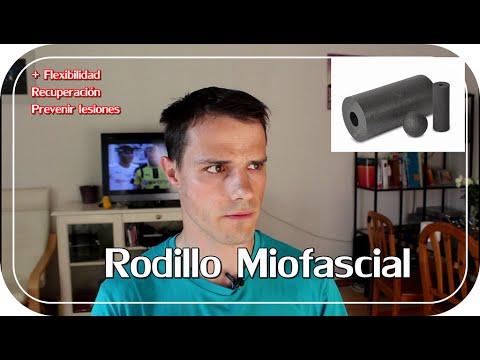 Rodillo miofascial. Recuperación y prevenir lesiones (Black Roll - Foam Roller)