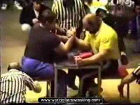 Richard Lupkes - Worlds 1988 - World of Armwrestling.com