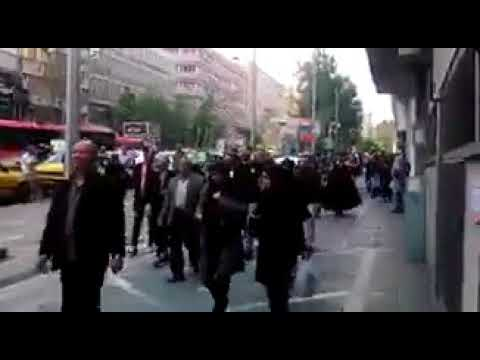 Iran - Tehran Demonstrations of the people of the loot