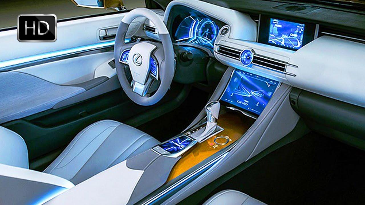 2015 Lexus LF-C2 Concept Convertible Roadster Interior Design HD ...