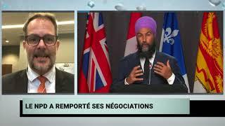 Le chef adjoint du  NPD, Alexandre  Boulerice, réagit aux nouvelles mesures d'aide fédérale