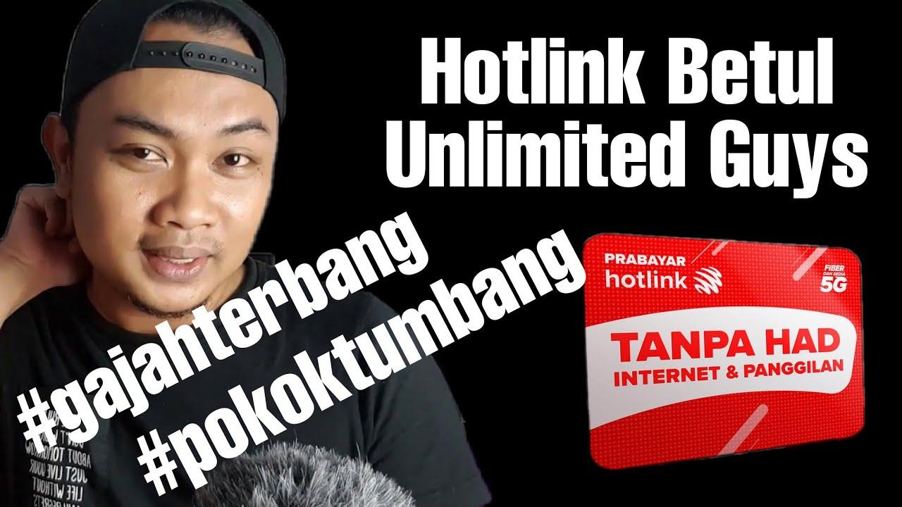Download Hotlink Prepaid Seriously Unlimited Internet..X Percaya Tengok Video Ini #Bukti
