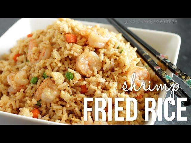 Easy shrimp fried rice recipe chinese