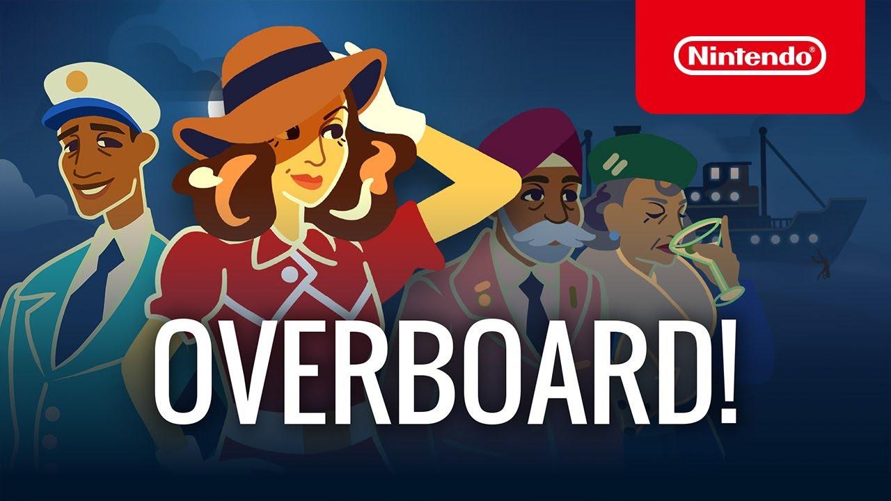 Launch Trailer για το Overboard!