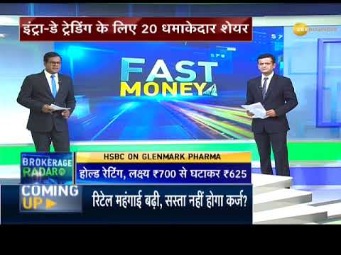 Fast Money: 20 best calls for Intra-day @ December 13, 2017