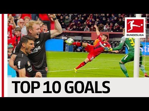 Top 10 Bayer Leverkusen Goals 2017/18 - Bailey, Brandt & More